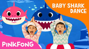 baby shark doo doo doo song and speech delay