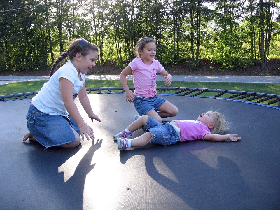 trampoline for ADHD and autistic kids