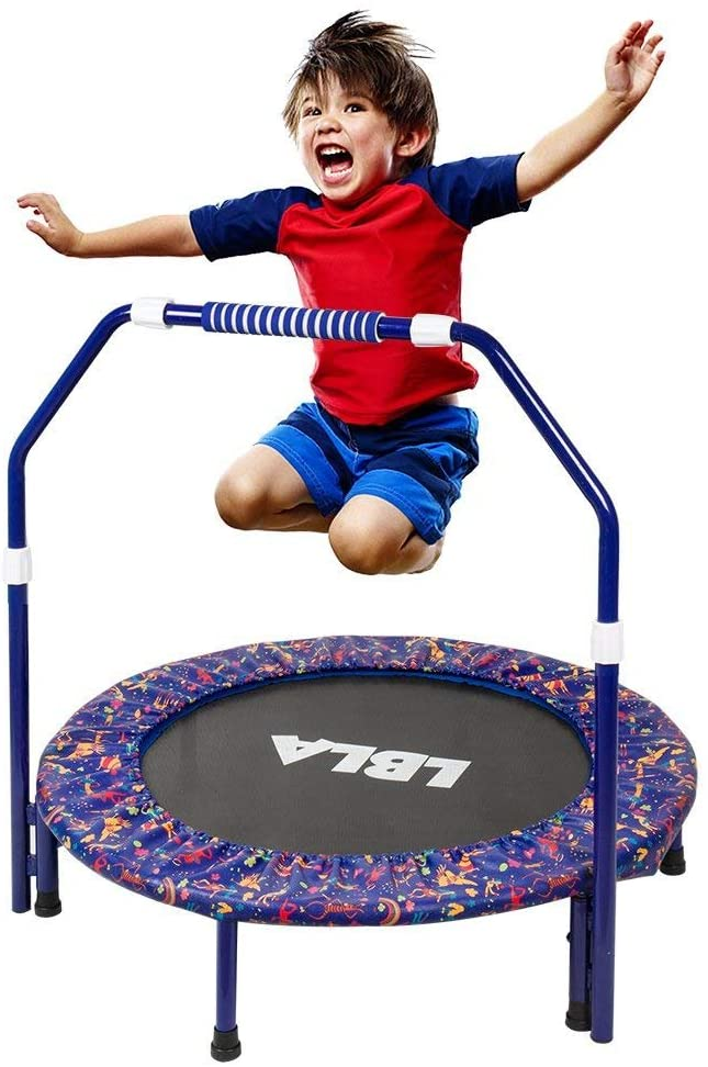 are trampolines safe for toddlers