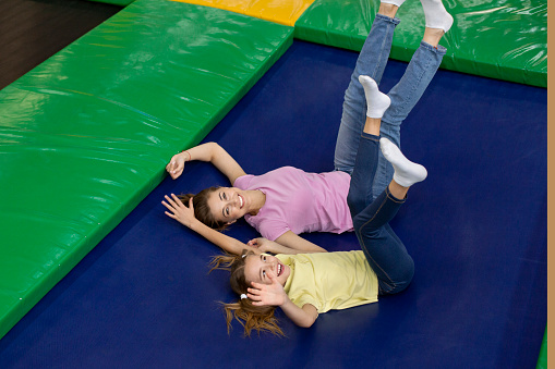 fun things to do at a park trampoline